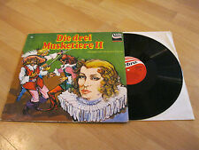 LP Die drei Musketiere II Hörspiel Alexandre Dumas Vinyl Zebra 91.263