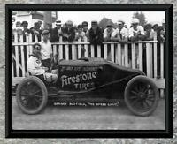 Classic... Barney Oldfield, Firestone  Adv. Race Car ... Antique 5x7 Photo Print