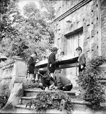 LIMOURS c. 1950 - École Enfants Maquette Bateau Essonne - Négatif 6 X 6 - IDF229