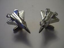 Lockheed Martin F-22 Raptor c148 Cufflinks Made From Fine English Modern Pewter