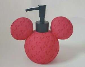 Disney Mickey Mouse Soap Pump  NEW ARRIVAL 2021 RED
