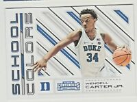 2018-19 Panini Contenders Draft Picks SCHOOL COLORS #7 WENDELL CARTER RC Rookie