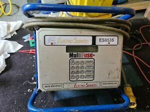 FUSION WELDER Multifuse+ D40V 40V 80V ELECTROFUSION GAS PLASTIC PIPE WELDER 110V