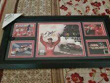 Dale Earnhardt Jr. Autographed Photo Collage.