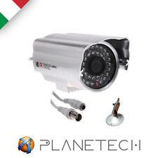 TELECAMERA CAMERA VIDEOSORVEGLIANZA INFRAROSSI 48 LED CCD SONY 6MM 800 TVL