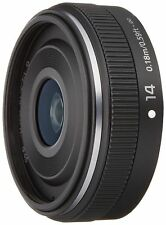 Panasonic Camera Lens LUMIX G 14mm F2.5 II ASPH. Black H-H014A-K