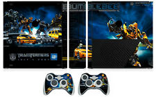 Transformers 003 Decal Skin Sticker for Xbox360 Slim E and 2 controller skins