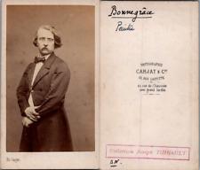 Carjat, Paris, Charles Adolphe Bonnegrace Vintage albumen print. CDV.Charles A