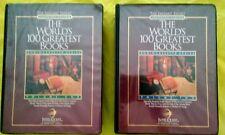 Complete Set Volume 1 & 2 The World's 100 Greatest Books - AudioCassette Series