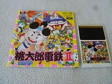 JAPAN IMPORT PC ENGINE HU CARD GAME W MANUAL SUPER PEACH BOY II 2 VOL 45 HE RARE