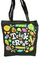Halloween Trick or Treat Tote Bag Candy Carry Bag Choose color