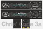 Code 3 Adhesive Vinyl Trailer Decal - Mercedes AMG Formula 1 - 1/50 1/76 1/148