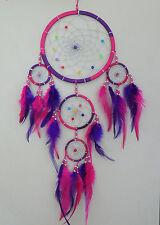 16 cm  x 45 cm Pink Lila Dreamcatcher Traumfänger Träume Geschenk Geburtstag