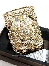 DEVIN Oil Lighter Skull Full Metal Jacket Onyx Heavy Weight Japanese Luxury F/S
