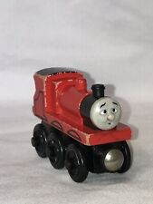 Thomas & Friends Wooden Railway Train Tank James Goes Buzz Red Nose 1999