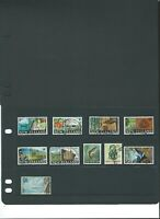 World Stamps: NEW ZEALAND - 1967-69 - Later Definitives set (Lot 2951)