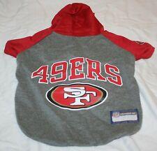 New listing San Francisco 49ers Nfl Dog Hoodie Tee Shirt Med