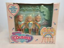 Tyco Quints Cousins Triplets Dolls Rainbow-Set / Puppen NrfB Mint in sealed Box