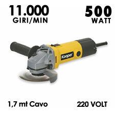 Mini Flex Smerigliatrice Angolare 500 W 115 Mm 11.000 Giri/Min Kooper 220 Volt