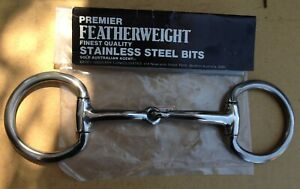 """5'5"""" premier featherweight stainless steel eggbutts from bates saddlery."""