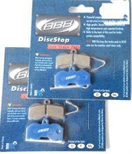 4 PLAQUETTES DE FREINS BBB  BBS-62 POUR HOPE XC4 4 PISTON NEUF ( disk brake )