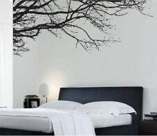 Adesivi e stancil da parete neri adesivi di piante, fiori e alberi