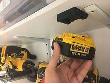 FIVE Black DeWALT XR BATTERY MOUNT for Brushless Multi Tool MultiTool Batteries