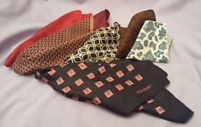 Collection Vintage Soie Mouchoirs foulards 1970 s Inc Yves Saint Laurent YSL