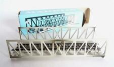 Original Märklin H0 7612 Puente de Celosía Einzelelement Gris Incl. Emb.orig