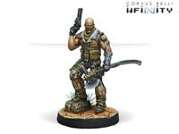 Infinity Ariadna Intel Spec-Ops Heavy Pistol Sniper Corvus Belli INF 281110