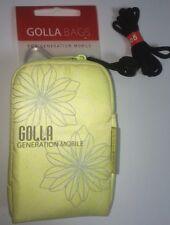NEW Golla Bags Zippered Camera Bag Digital Cameras Lime Green generation Mobile
