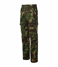 Mens Cargo Combat Work Trousers Army Military Camo Camouflage Blue Castle 901