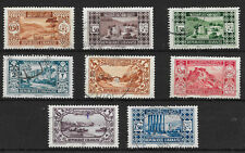 LEBANON PART SET SG 166/8/8a/9/171/2/4/5;1930/35 GOOD - FINE USED.