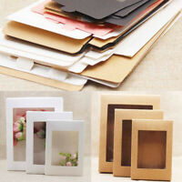 Cake Packaging with Window Paper for Wedding 10Pcs DIY Paper Box Home Party