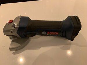 "Bosch 18v Cordless Angle Grinder 125mm 5"" Body GWS 18-125 V-LI and lots of Discs"