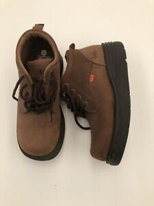 KICKERS Ankle Boots Size 6.5 Eu 37 Brown Hiking-Style