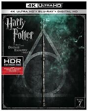 HARRY POTTER DEATHLY HALLOWS 2  (4K ULTRA HD) - Blu Ray - Region free