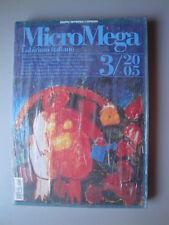 MicroMega 3/2005 BLISTERATO Labirinto italiano