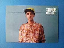 SHINee World Dream Girl Official Photo Post Card Postcard Set -  Minho