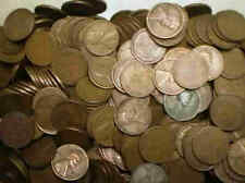 Unsearched Wheat Penny Roll - Coins Bought from Auctions - Free Shipping