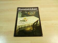 Kunststricken - 4 Decken / Verlag für die Frau DDR / 2225