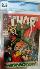 Thor #148 CGC 8.5 OW/W - 1st Appearance of The Wrecker  Origin of Blackbolt