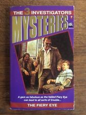 The 3 Investigators Mysteries The Fiery Eye By Robert Arthur ARMADA VGC