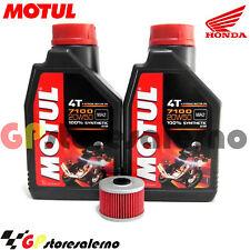 KIT TAGLIANDO OLIO + FILTRO OLIO MOTUL 7100 20W50 HONDA 650 NX DOMINATOR 2001