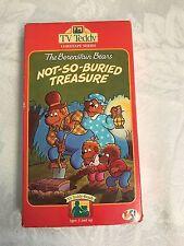 TV TEDDY  Bernstein Bears  KIDS CHILDREN not so buried treasure