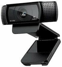 Logitech HD Pro Webcam C920 Widescreen Video Calling and Recording 1080p