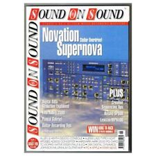 Sound on Sound Magazine August 1998 MBox1171 Novation Supernova
