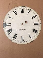 Antique Seth Thomas Weight Driven Regulator Clock Dial