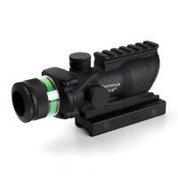 Used Terminus Optics Gen 2. Green BDC Reticle 4x32 Mag. Hunting Free Shipping