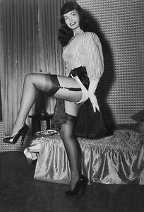 BETTIE PAGE 78 (1950's PLAYBOY MODEL) KEYRINGS-MUGS-PHOTOGRAPHS